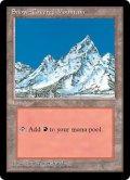 冠雪の山/Snow-Covered Mountain (ICE)