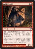 紅蓮心の狼/Pyreheart Wolf (DKA)