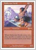 バルデュヴィアの大軍/Balduvian Horde (Beatdown)