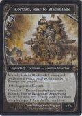 黒き剣の継承者コーラシュ/Korlash, Heir to Blackblade (Prerelease Card)