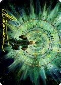 【イラストコレクション:箔押し】新緑の熟達/Verdant Mastery (STX)【19/81】
