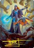 【イラストコレクション:箔押し】謎の賢者、カズミナ/Kasmina, Enigma Sage (STX)【29/81】