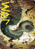 【イラストコレクション:箔押し】本のワーム/Bookwurm (STX)【14/81】