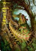 【イラストコレクション:箔押し】厄介な害獣、ブレックス/Blex, Vexing Pest (STX)【22/81】