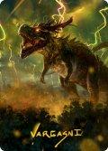 【イラストコレクション:箔無し】大嵐の咆哮、スラスタ/Thrasta, Tempest's Roar (MH2)【42/81】